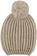 Cappellino bambina in tricot lurex misto lana ido BEIGE MELANGE-8900