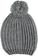 Cappellino bambina in tricot lurex misto lana ido GRIGIO MELANGE-8967