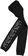 Calzamaglia bambina con bande laterali fantasia maculata lurex ido NERO-0658
