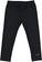 Versatile e comodo leggings bambina in cotone elasticizzato ido NERO - 0658