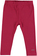 Versatile e comodo leggings bambina in cotone elasticizzato ido BORDEAUX - 2652