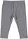 Versatile e comodo leggings bambina in cotone elasticizzato ido GRIGIO MELANGE - 8967