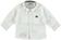 Calda camicia a manica lunga 100% cotone ido PANNA - 0112