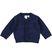 Cardigan in tricot tinta unita ido NAVY-3854