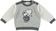 Maglia in tricot con elefantino ido GRIGIO-PANNA - 8139