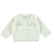 Elegante cardigan con stampa glitter ido PANNA - 0112