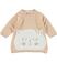 Vestitino in tricot con gattino ido BEIGE-PANNA - 8181