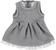 Vestitino neonata in matelassè con disegno damascato ido GRIGIO MELANGE-8967