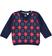Maglioncino a quadri in tricot ido BLU-ROSSO - 8031