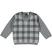 Maglioncino a quadri in tricot ido GRIGIO-GRIGIO - 8045