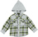 Pratica e comoda camicia bambino 100% cotone a quadri ido GRIGIO MELANGE - 8992