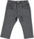 Pantalone strutturato con misura vita regolabile ido GRIGIO SCURO - 0564