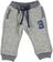 Grintoso pantalone in felpa effetto melange ido GRIGIO MELANGE - 8970