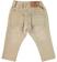 Comodo pantalone in speciale felpa effetto vissuto ido BEIGE-0414_back