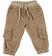 Pantalone modello cargo in velluto ido BEIGE - 0414