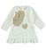 Elegante abitino con cuore e strass ido PANNA - 0112