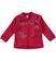 Giacchetto full zip per bambina con fiocchi ido BORDEAUX - 2652