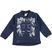 Giacchetto full zip per bambina con fiocchi ido NAVY - 3854
