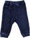 Pantalone per bambina modello baggy fit in ciniglia ido NAVY - 3854