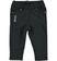 Pantalone bambina in felpa stretch di cotone garzata internamente ido NERO - 0658