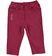 Pantalone bambina in felpa stretch di cotone garzata internamente ido BORDEAUX - 2537