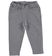 Pantalone bambina in felpa stretch di cotone garzata internamente ido GRIGIO MELANGE - 8967