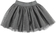 Gonna bambina in tulle glitter ido GRIGIO SCURO - 0564