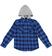 Camicia bambino fantasia a quadri 100% cotone ido ROYAL - 3735