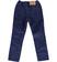 Pantalone bambino in velluto elasticizzato ido NAVY - 3854 back