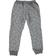 Pantalone bambino modello cavallo calato in felpa melange ido BLU MELANGE - 8903 back