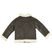 Giubbotto shearling in ecopelliccia colletto rever ido BROWN - 0845 back