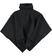 Caldo poncho in tricot misto lana ido NERO - 0658