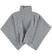 Caldo poncho in tricot misto lana ido GRIGIO MELANGE - 8992
