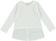 Maxi maglietta bambina con inserto finta camicia ido PANNA-0112