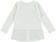 Maxi maglietta bambina con inserto finta camicia ido PANNA-0112 back