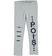 Leggings con strappi e toppe ido GRIGIO MELANGE - 8992