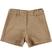 Shorts in finta pelle scamosciata ido NOCCIOLA - 0937