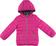 Piumino leggero per bambina in nylon finitura cerata ido FUXIA - 2453