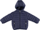 Piumino bambina leggero con cappuccio attaccato  NAVY - 3854